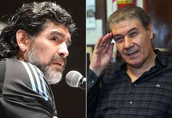 Maradona y Victor H