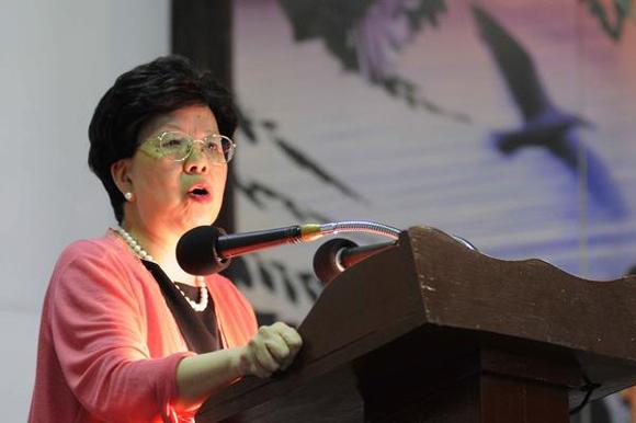 Margaret Chan, directora general de la Organización Mundial de la Salud (OMS). Foto: Roberto MOREJÓN/AIN.