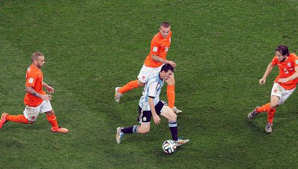 Messi contra Holanda B1