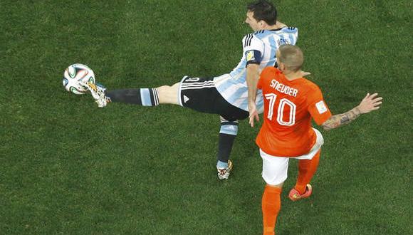 Messi y Sneijder