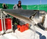 Una de las muestras obtenidas para analizar la polución llegada a la Antártida. Foto: Tomada de http://www.rtve.es