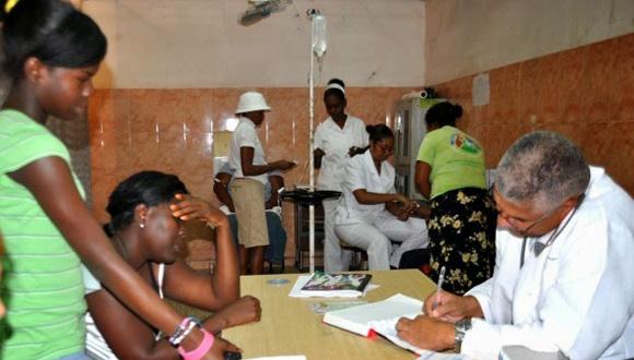 Pacientes de fiebre chikungunya en República Dominicana. Foto: Tomada de http://www.ecosdelsur.net