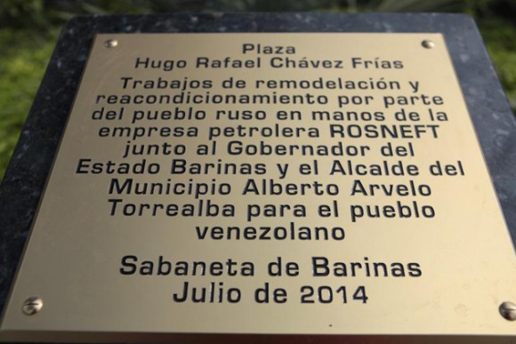 Maduro inauguró la Plaza Hugo Rafael Chávez Frías. Foto: @Vicevenezuela.