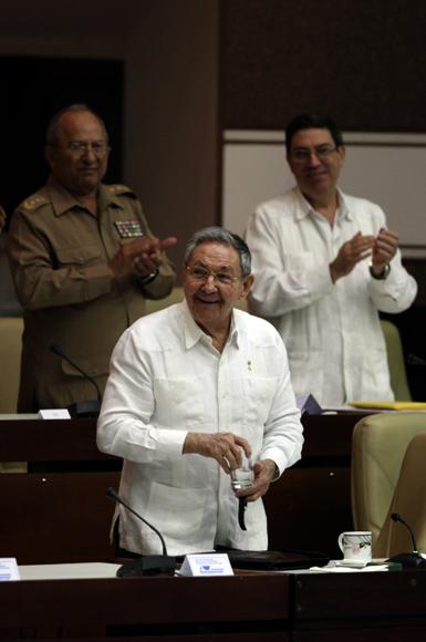 Clausura Raúl Castro sesiones de trabajo del Parlamento cubano. Foto: Ismael Francisco/Cubadebate.