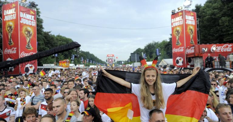 Recibimiento a campeones alemanes futbol 10