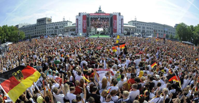 Recibimiento a campeones alemanes futbol 9