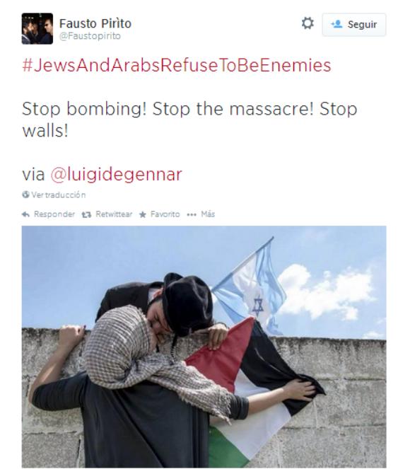 Twitter árabes judíos 5