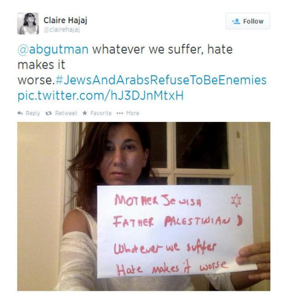 Twitter árabes judíos 9