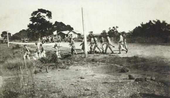 WikiMedia: Los Marines de Estados Unidos intervienen la República Dominicana, c. 1916-1920.