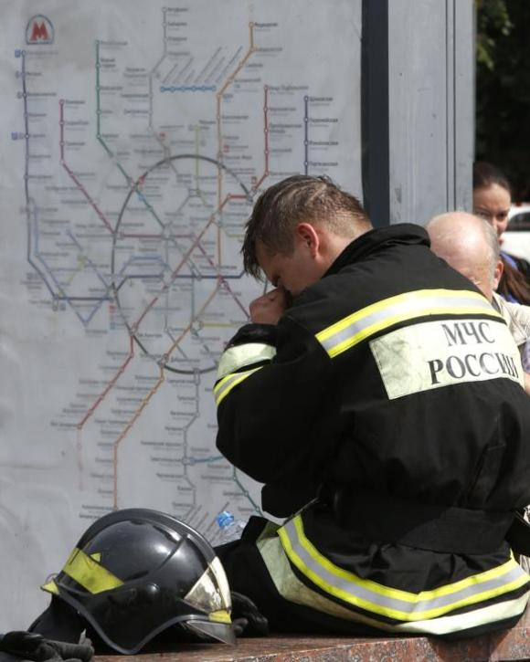 accidente en metro de moscú 4