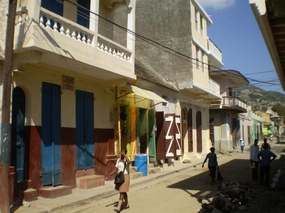 Casa donde estuvo Mrtí en Cabo Haitiano, Haití. Foto: Dr. Pablo Rodríguez Nieves, médico internacionalista.