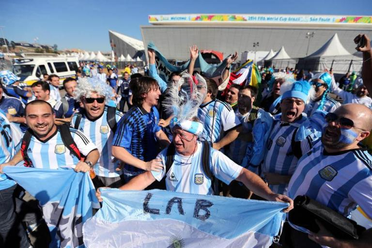 argentinos se preparan para partido de argentina con suiza 1