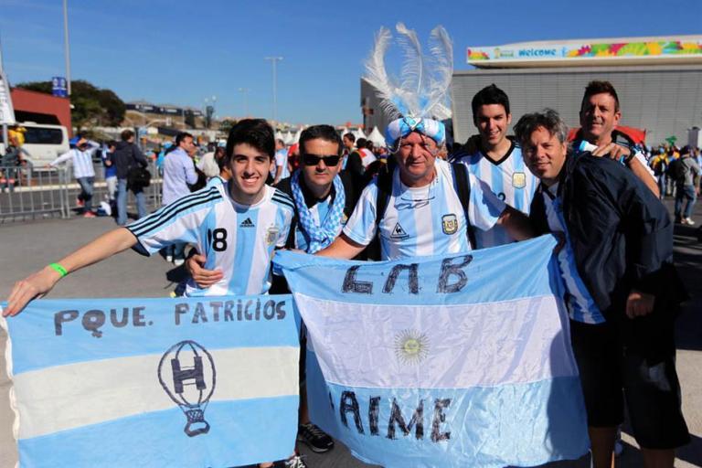 argentinos se preparan para partido de argentina con suiza 4