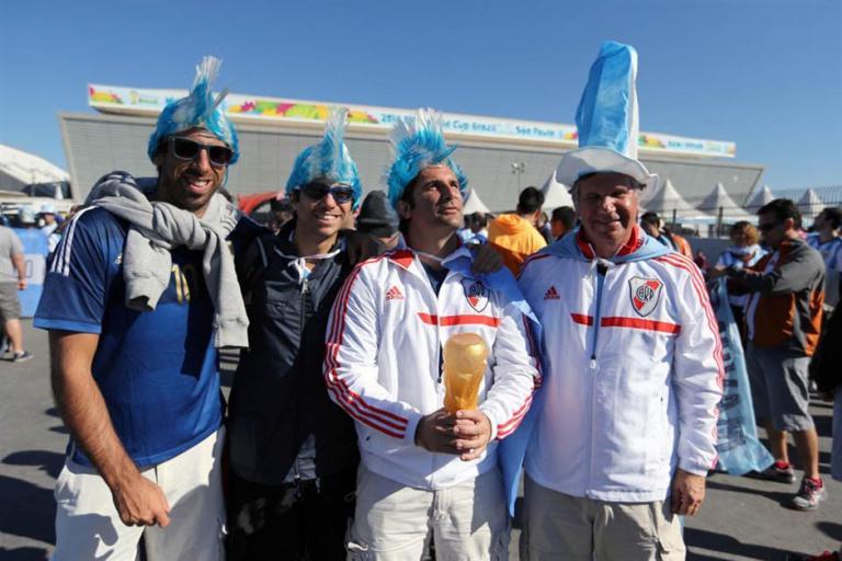 argentinos se preparan para partido de argentina con suiza 5
