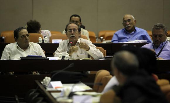 Comisión Educación, Cultura, Ciencia y Tecnología. Foto: Ismael Francisco/Cubadebate.