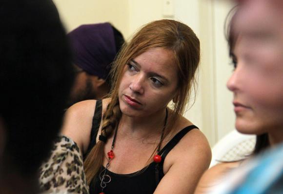 Yaimí Ravelo, del periódico Granma Premio en Fotografia. Foto: Ismael Francisco/Cubadebate.