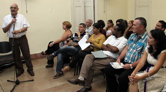 Antonio Molto, presidente de la UPEC. Foto: Ismael Francisco/Cubadebate.