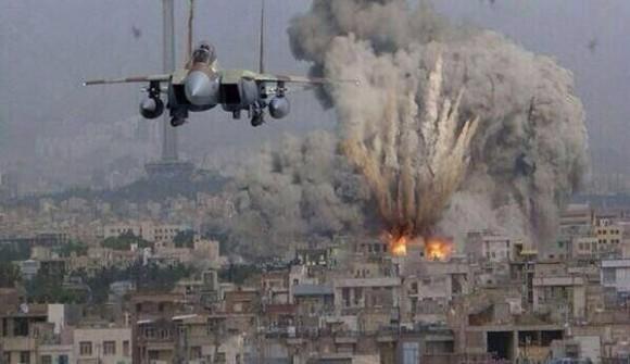 """• """"Cuando oyerais de guerras y de rumores de guerras, cuando Jerusalén esté rodeada de ejércitos..."""" Bombardeo-gaza-580x335"""
