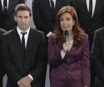 Presidenta Cristina Fernández recibió a selección nacional de fútbol subcampeona de Brasil 2014