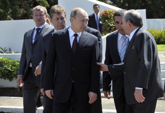 Putin y Raúl Castro en La Habana. Foto: Ismael Francisco/ Cubadebate