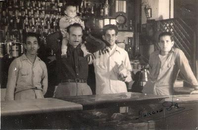 Bodega cubana en la década del 40 del Siglo pasado.