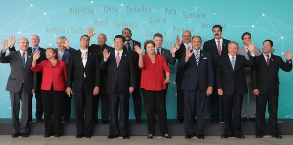 Cumbre CELAC + China. Foto de Familia. Foto: Prensa Presidencial Venezuela