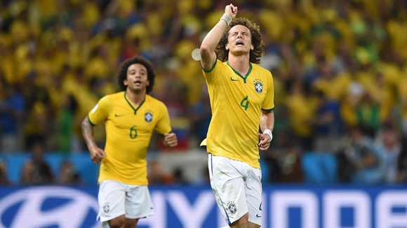 David Luiz sigue haciendo un gran Mundial.