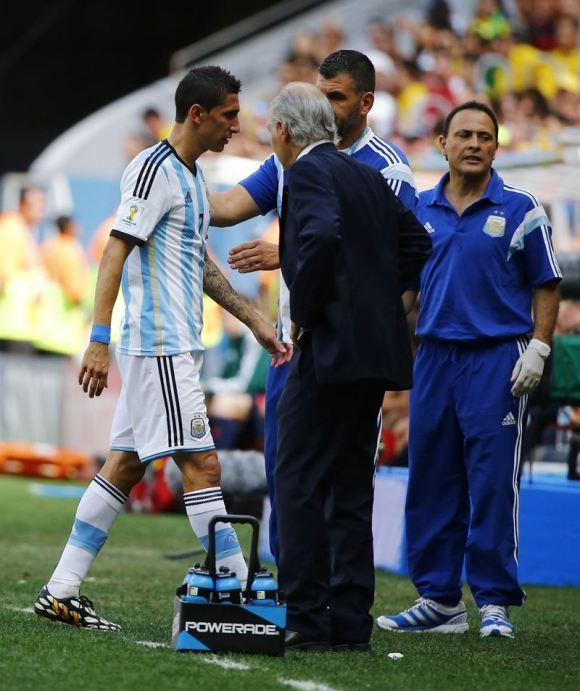 Di María también dice adiós al Mundial por lesión