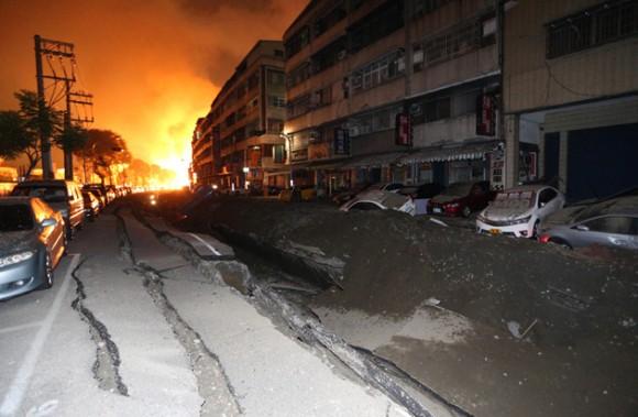 explosión taiwan