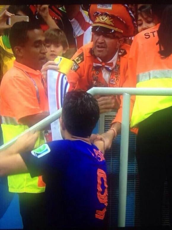 fanático holandés