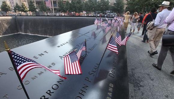 homenaje a los muertos durante el 11 de septiembre