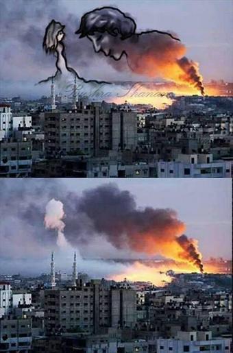 gaza pinturas bombardeos3
