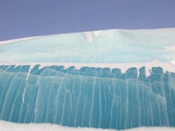 Se han detectado por primera vez olas de hasta cinco metros de altura en el Océano Ártico.