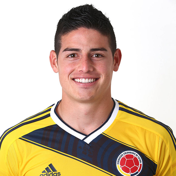 James Rodríguez. Foto: FIFA.