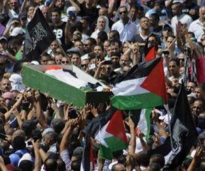 joven palestino muerto