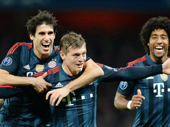 Kroos, al centro.