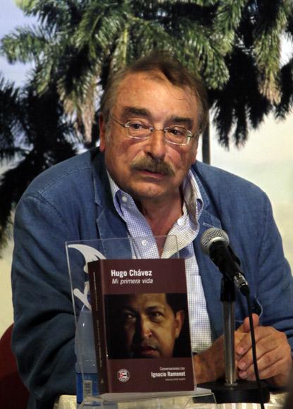 Prensentacion del Libro  Hugo Chavez Mi primera Vida, de Ignaico Ramonet. Foto: Ismael Francisco/Cubadebate.