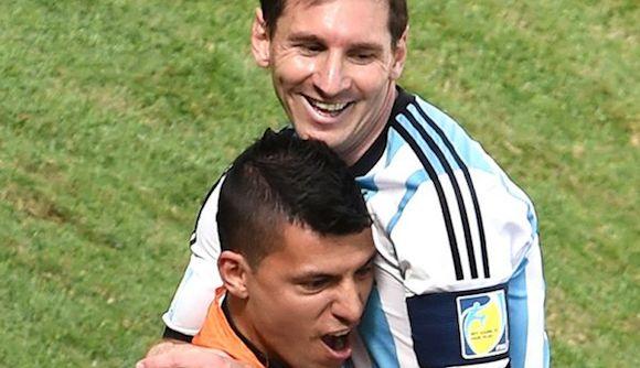 Lionel Messi a Argentina: Disfruten y sigamos soñando que falta poco. Dijo a la prensa. Foto: Página 12.