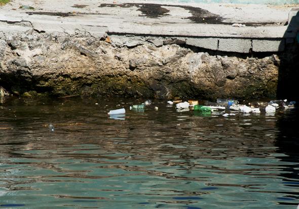Imagen ya cotidiana en la costa. Foto: Roberto Garaicoa Martínez/ CUBADEBATE.