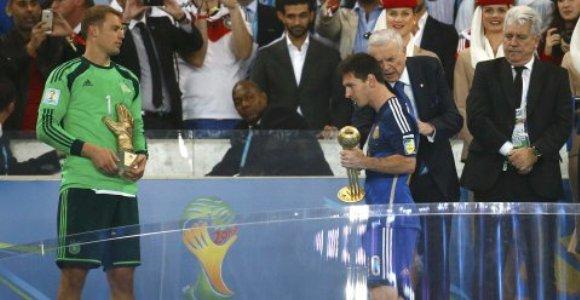 Lionel Messi, Balón de Oro de Copa Mundial de Fútbol Brasil 2014