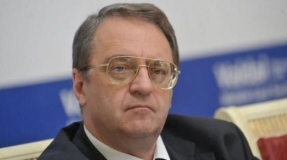 Vicecanciller ruso, Mijail Bogdanov.