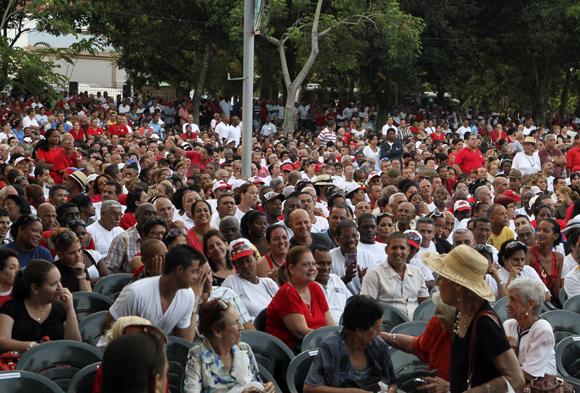 Acto Central en Artemisa por el Día de la Rebeldía Nacional
