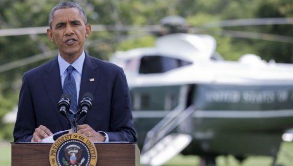Presidente de Estados Unidos, Barack Obama, anuncia nuevo paquete de sanciones contra Rusia. FOTO: AP.