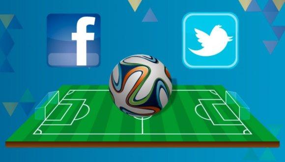 Brasil 2014 twitter facebook