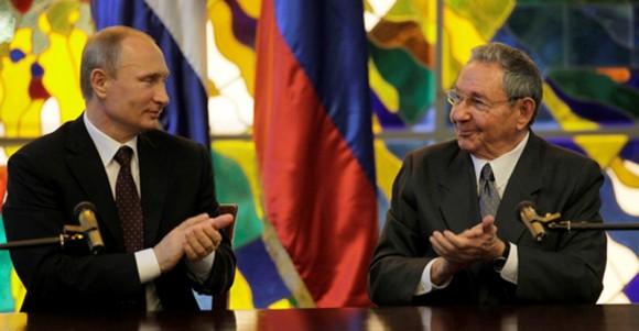 Raul y Putin