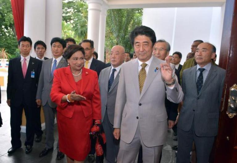 primer ministro de japon en trinidad y tobago