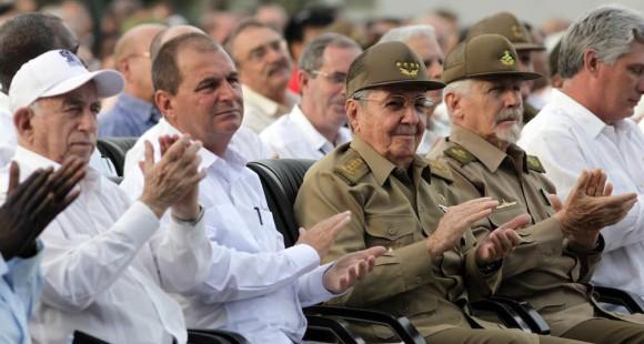 Asiste Raúl Castro al Acto Central por el Asalto al Cuartel Moncada en Artemisa. Foto: Ismael Francisco/ Cubadebate