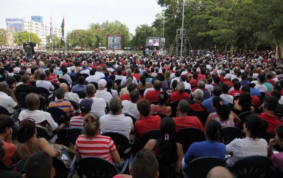 El pueblo de Artemisa representó al de toda Cuba en esta celebración.