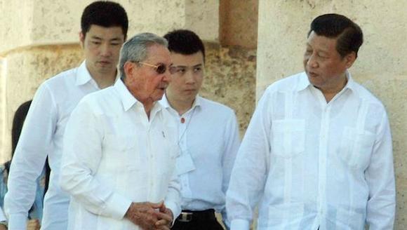 SANTIAGO DE CUBA-RINDE HOMENAJE XI JINPING A JOSÉ MARTI EN EL CEMENTERIO DE SANTA IFIGENIA