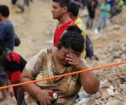 Labores de rescate. Foto: Reuters.